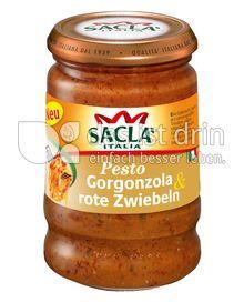 Produktabbildung: Saclà Pesto Gorgonzola & rote Zwiebeln 190 g