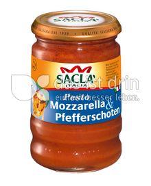 Produktabbildung: Saclà Pesto Rote Pfefferschoten mit Mozzarella 190 g