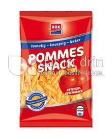 Produktabbildung: Xox Pommes Snack 125 g