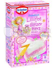 Produktabbildung: Dr. Oetker Prinzessin Lillifee Glitzerherz Zitrone 370 g