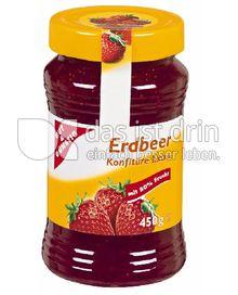 Produktabbildung: Gut & Günstig Erdbeer-Konfitüre Extra 450 g