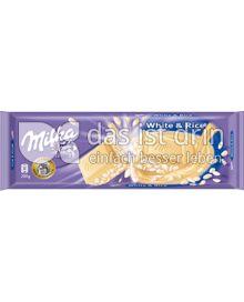 Produktabbildung: Milka White & Rice 200 g