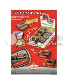 Produktabbildung: Speed Mint zuckerfreie Pfefferminzpastillen 20 g
