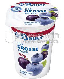 Produktabbildung: Bauer Der große Bauer Heidelbeere 250 ml