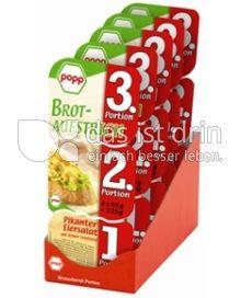 Produktabbildung: Popp Brotaufstrich in Portionsverpackung 0,003 g