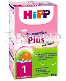 Produktabbildung: Hipp Anfangsmilch Plus 600 g