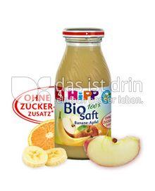 Produktabbildung: Hipp Bio Saft Banane-Apfel 0,2 l