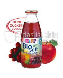 Produktabbildung: Hipp Bio Saft Rote Traube in Apfel 0,5 l