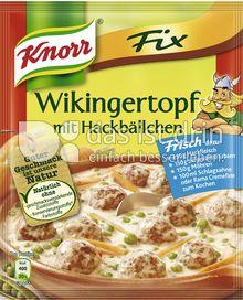 Produktabbildung: Knorr Fix Wikingertopf mit Hackbällchen 30 g