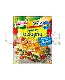 Produktabbildung: Knorr Fix Spinat Lasagne 74 g