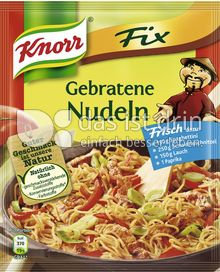 Produktabbildung: Knorr Fix Gebratene Nudeln 30 g