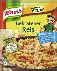 Produktabbildung: Knorr Fix Gebratener Reis 27 g