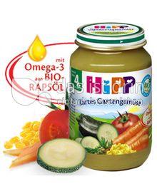 Produktabbildung: Hipp Zartes Gartengemüse 190 g