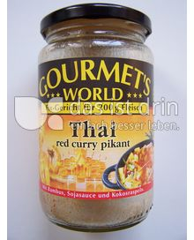 Produktabbildung: Gourmet's World Thai red curry 350 g