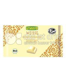 Produktabbildung: Rapunzel Weisse Schokolade 100 g