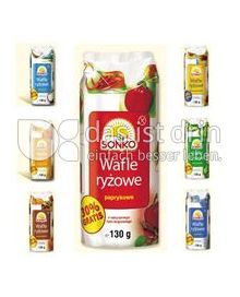 Produktabbildung: Sonko Reiswaffeln Natur, Paprika, Zimt, Kokos 130 g