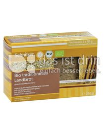 Produktabbildung: Schnitzer glutenfrei Bio traditionelles Landbrot 250 g