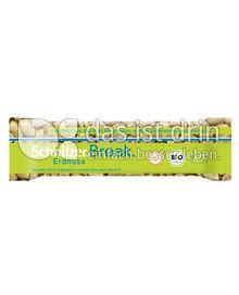 Produktabbildung: Schnitzer glutenfrei Break Bio Riegel Erdnuss 40 g