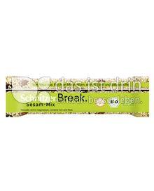 Produktabbildung: Schnitzer glutenfrei Break Bio Riegel Sesam-Mix 40 g
