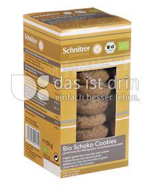 Produktabbildung: Schnitzer glutenfrei Bio Schoko-Cookies 150 g