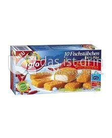 Produktabbildung: iglo Chili-Fischstäbchen 10 St.