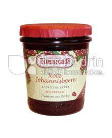 Produktabbildung: Zörbiger Rote Johannisbeere - Konfitüre Extra 340 g