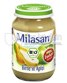Produktabbildung: Milasan Birne in Apfel 190 g