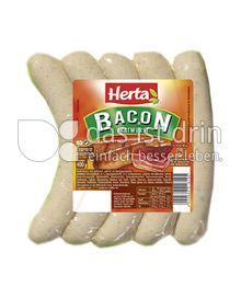 Produktabbildung: Herta Bacon-Bratwurst 400 g
