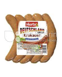 Produktabbildung: Herta Deutschland grillt Krakauer 400 g