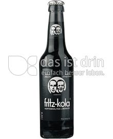 Produktabbildung: fritz-kola Koffeinhaltige Limonade 0,33 l