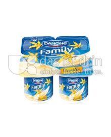 Produktabbildung: Danone Family Joghurt Vanille 500 g