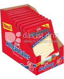 Produktabbildung: Zott Allgäutaler in Scheiben 150 g