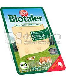 Produktabbildung: Zott Biotaler in Scheiben 125 g