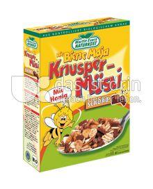 Produktabbildung: Martin Evers Naturkost Biene Maja Knusper-Müsli Schoko 375 g