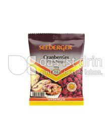 Produktabbildung: Seeberger Cranberries 125 g