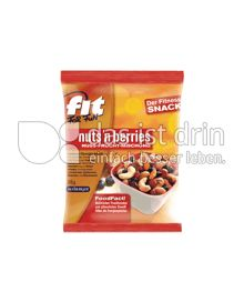 Produktabbildung: Seeberger FIT FOR FUN nuts ´n berries 175 g