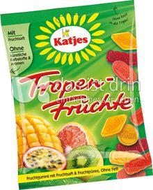 Produktabbildung: Katjes Tropen-Früchte 200 g