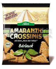 Produktabbildung: Allos Amaranth Crossinis Bärlauch 100 g