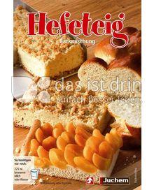 Produktabbildung: Juchem Hefeteig 387 g