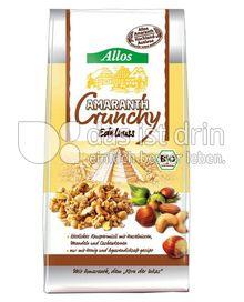Produktabbildung: Allos Amaranth-Crunchy Edelnuss 400 g