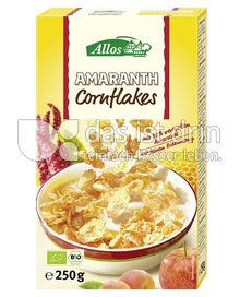 Produktabbildung: Allos Amaranth Cornflakes 250 g