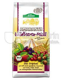 Produktabbildung: Allos Amaranth-Wildbeeren Müsli 400 g