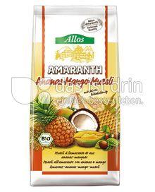 Produktabbildung: Allos Amaranth-Ananas-Mango Müsli 400 g
