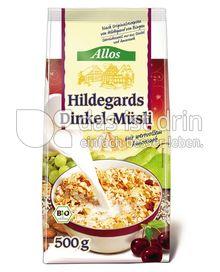 Produktabbildung: Allos Hildegards Dinkel-Müsli 500 g