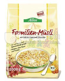 Produktabbildung: Allos Familien-Müsli 1000 g