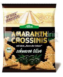 Produktabbildung: Allos Amaranth Crossinis schwarze Olive 100 g