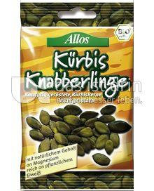 Produktabbildung: Allos Kürbis Knabberlinge 50 g