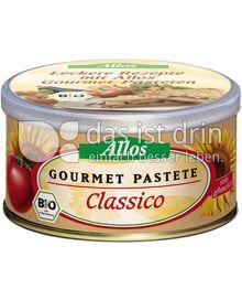 Produktabbildung: Allos Gourmet Pastete Classico 125 g