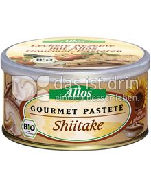 Produktabbildung: Allos Gourmet Pastete Shiitake 125 g