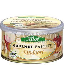Produktabbildung: Allos Gourmet Pastete Tandoori 125 g